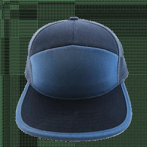 7 Panel Blue & Black for hat builder
