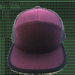 7 Panel Plum & Purple for hat builder