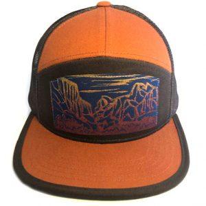 7P Orange Brown Yosemite front view