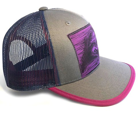 CFGrey Pink Mountain Love side view