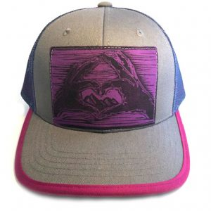 CFGreyPink Mountian Love front view